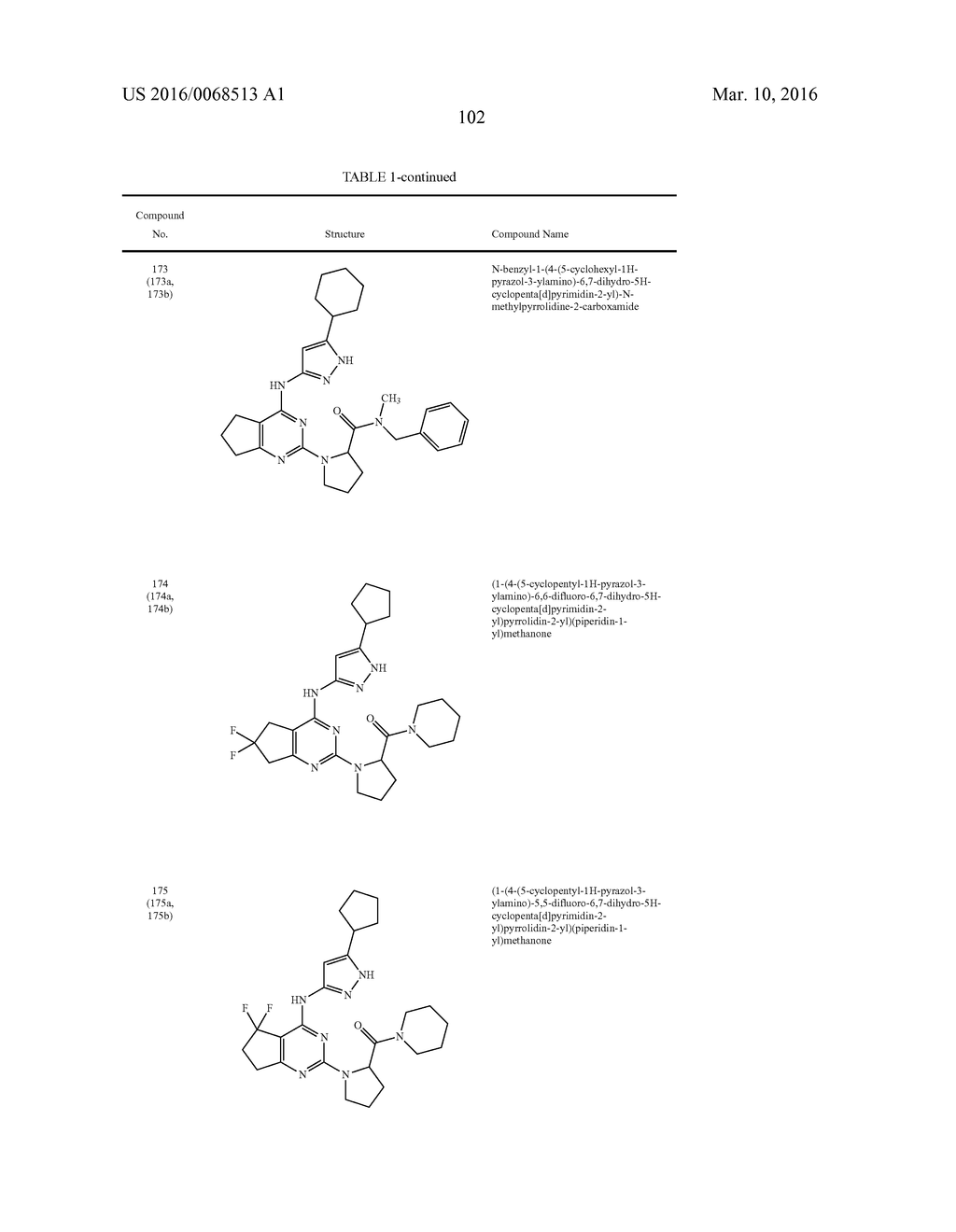 FUSED PYRIMIDINE COMPOUNDS AND USE THEREOF - diagram, schematic, and image 107