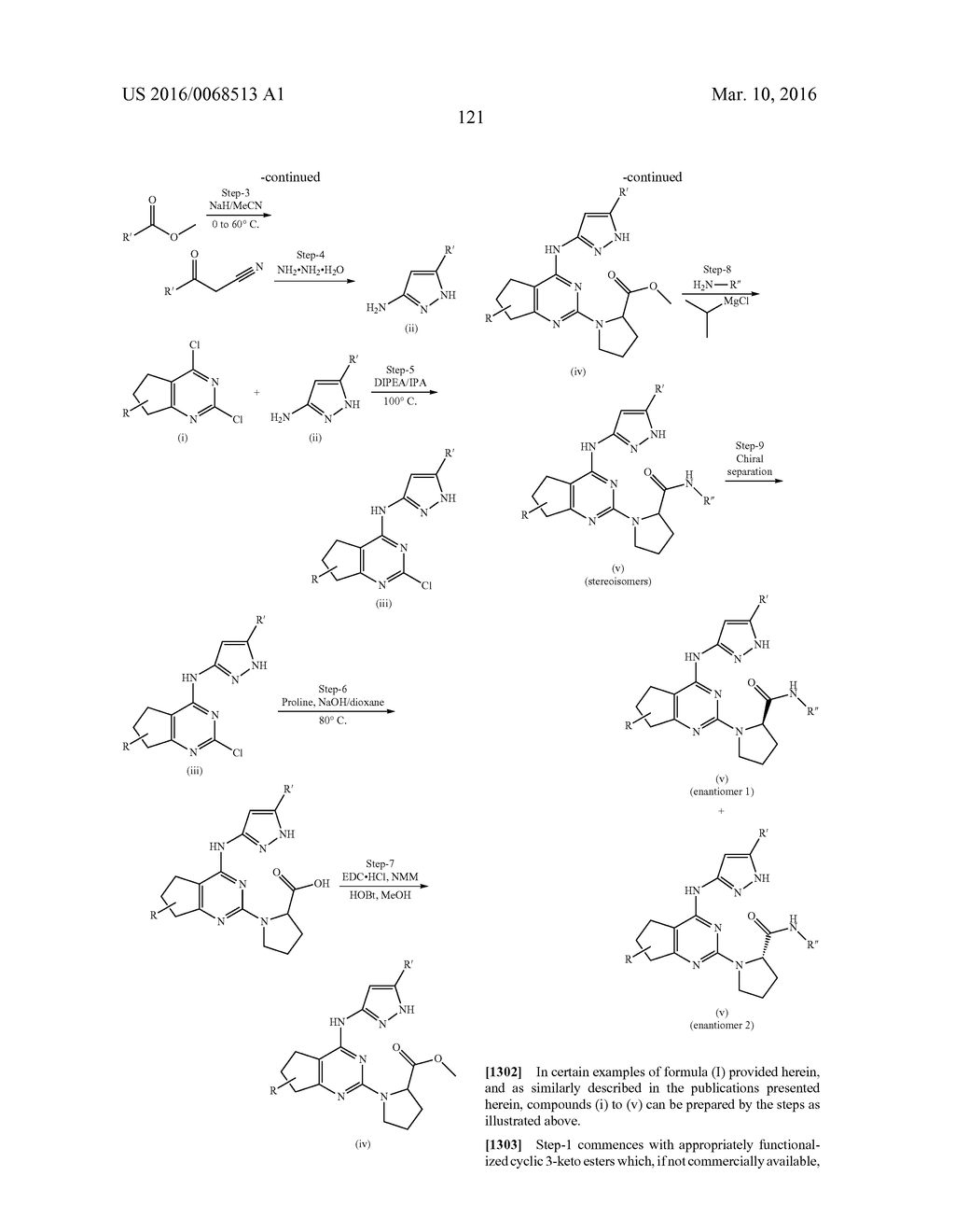 FUSED PYRIMIDINE COMPOUNDS AND USE THEREOF - diagram, schematic, and image 126