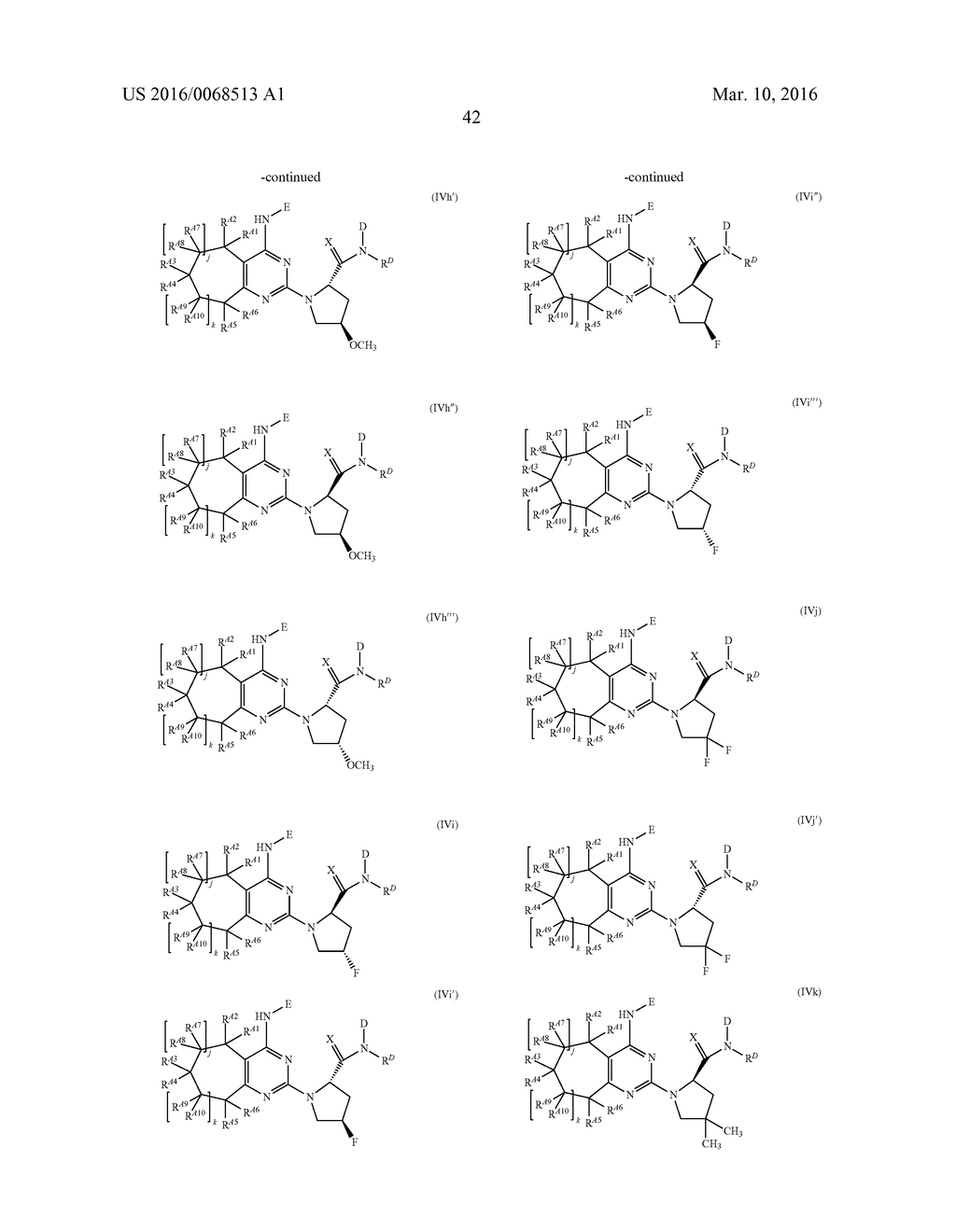 FUSED PYRIMIDINE COMPOUNDS AND USE THEREOF - diagram, schematic, and image 47