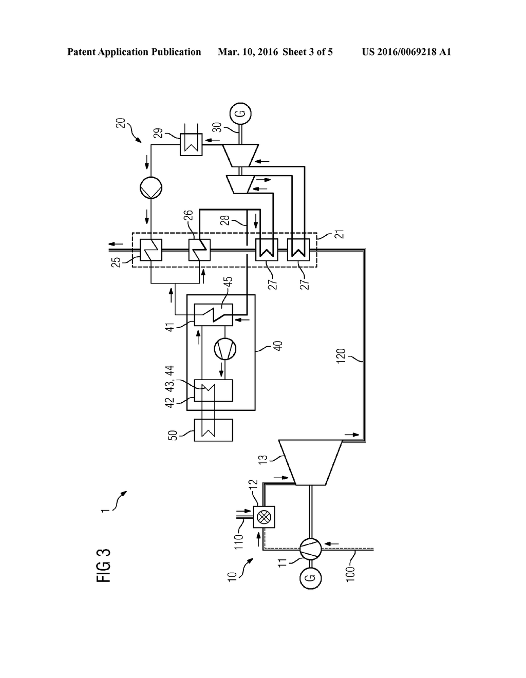 Power Plant System Having A Thermochemical Accumulator Diagram