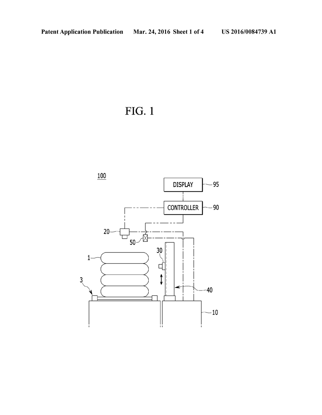 DEVICE AND METHOD FOR INSPECTION OF TIRE - diagram, schematic, and image 02