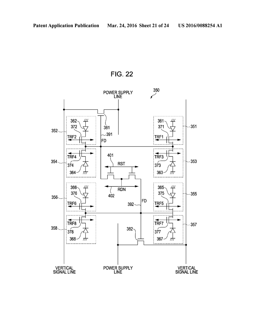 SOLID STATE IMAGE SENSOR, METHOD FOR DRIVING A SOLID STATE IMAGE SENSOR,     IMAGING APPARATUS, AND ELECTRONIC DEVICE - diagram, schematic, and image 22