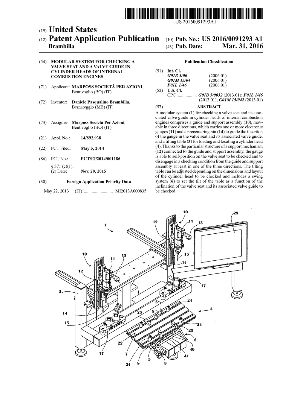 modular system for checking a valve seat and a valve guide in l head engine diagram modular system for checking a valve seat and a valve guide in cylinder heads of internal combustion engines diagram, schematic, and image 01