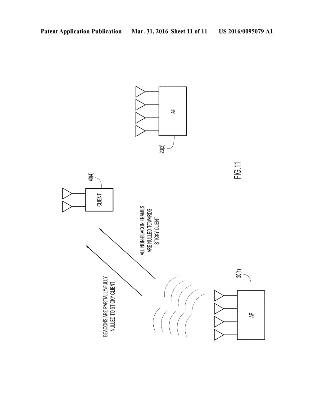 Removing Client Devices from Association with a Wireless Access Point -  diagram, schematic, and image 12