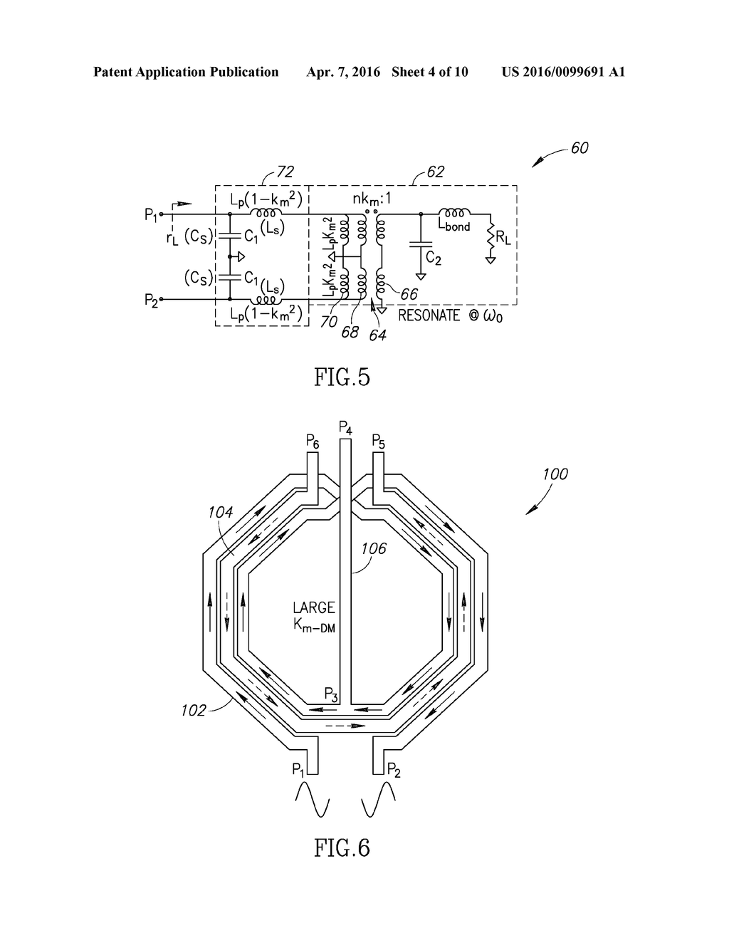 Transformer Based Impedance Matching Network And Related