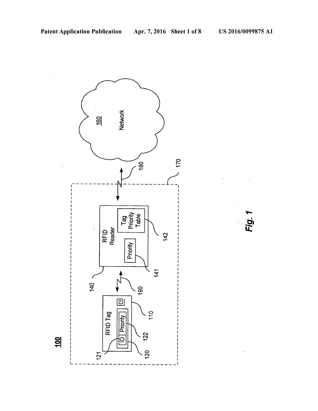 SYSTEMS AND METHODS FOR PROVIDING QUALITY OF SERVICE TO RFID - diagram, schematic, and image 02