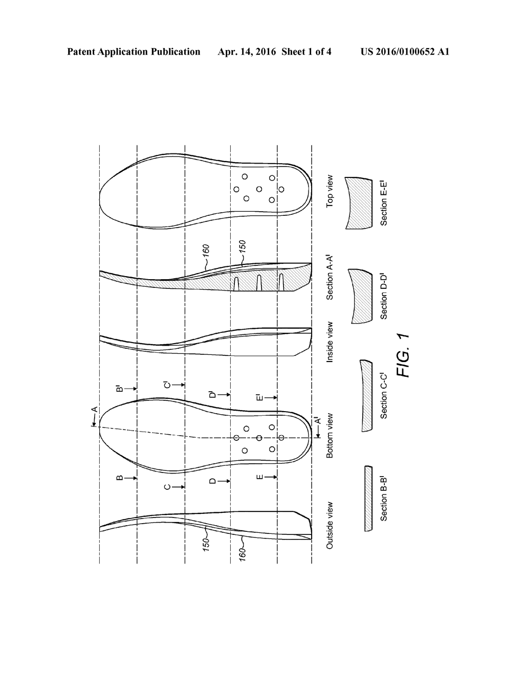ITEM OF FOOTWEAR - diagram, schematic, and image 02