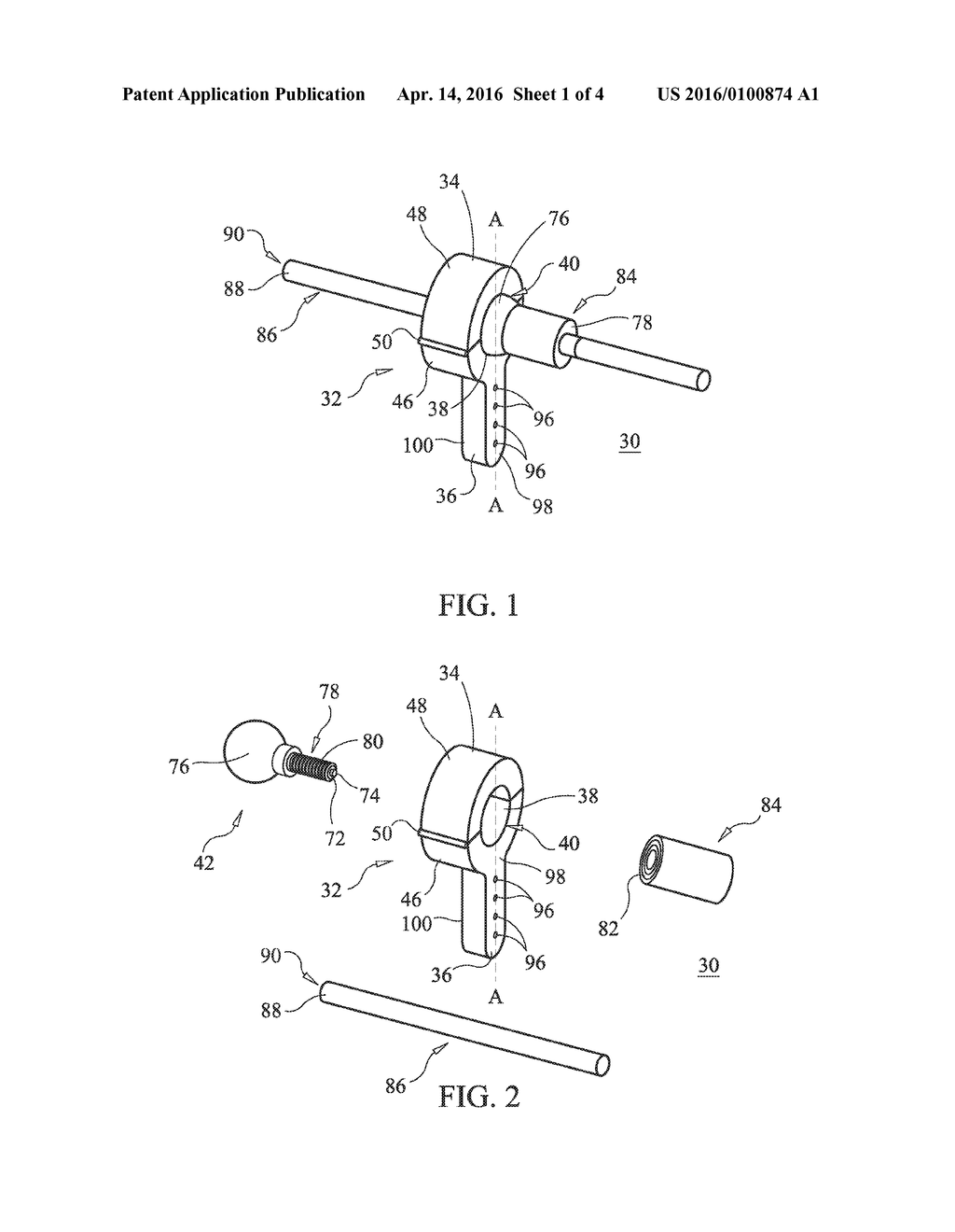 DEVICE FOR PERFORMING A SURGICAL PROCEDURE AND METHOD - diagram, schematic, and image 02