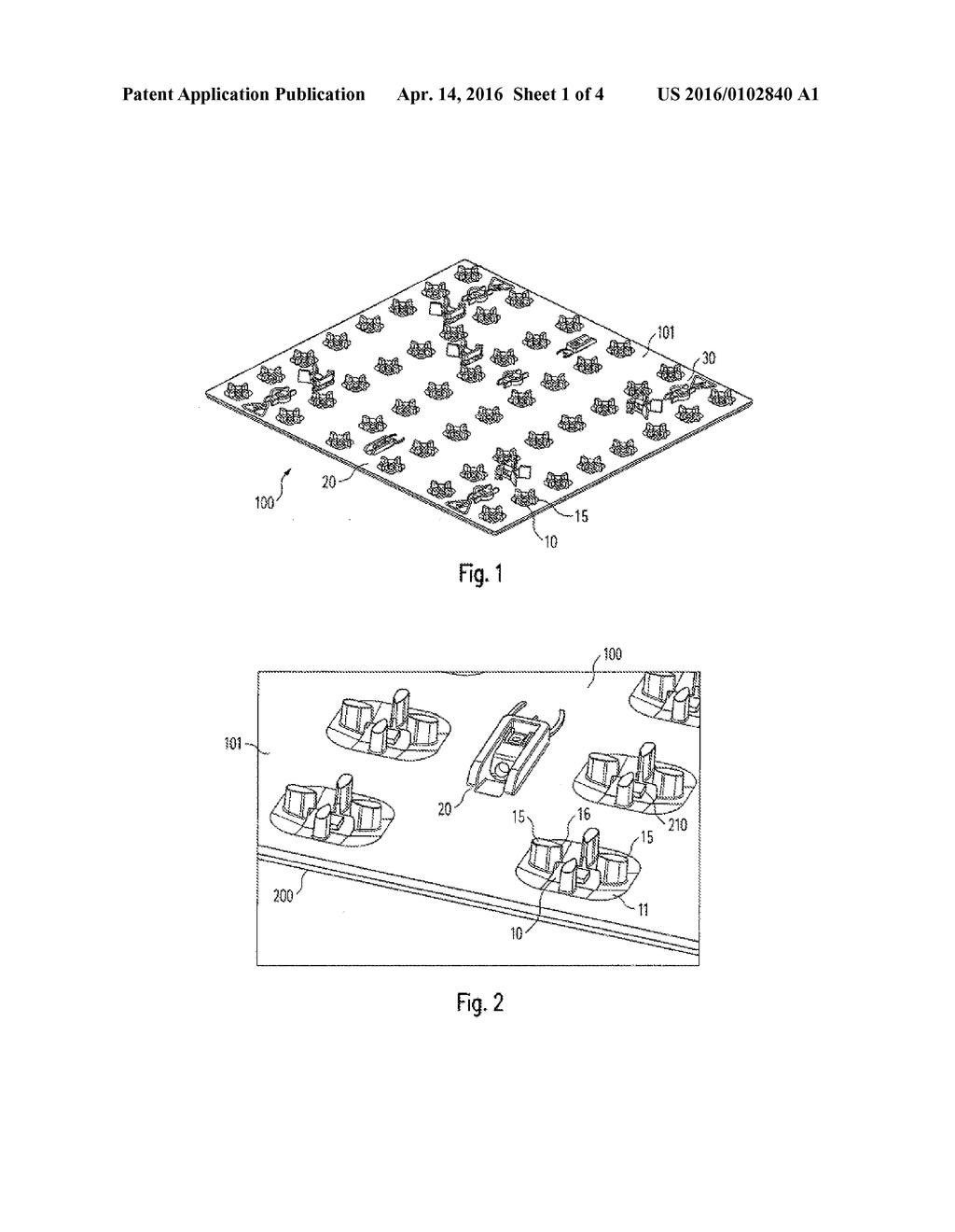 led circuit board diagram