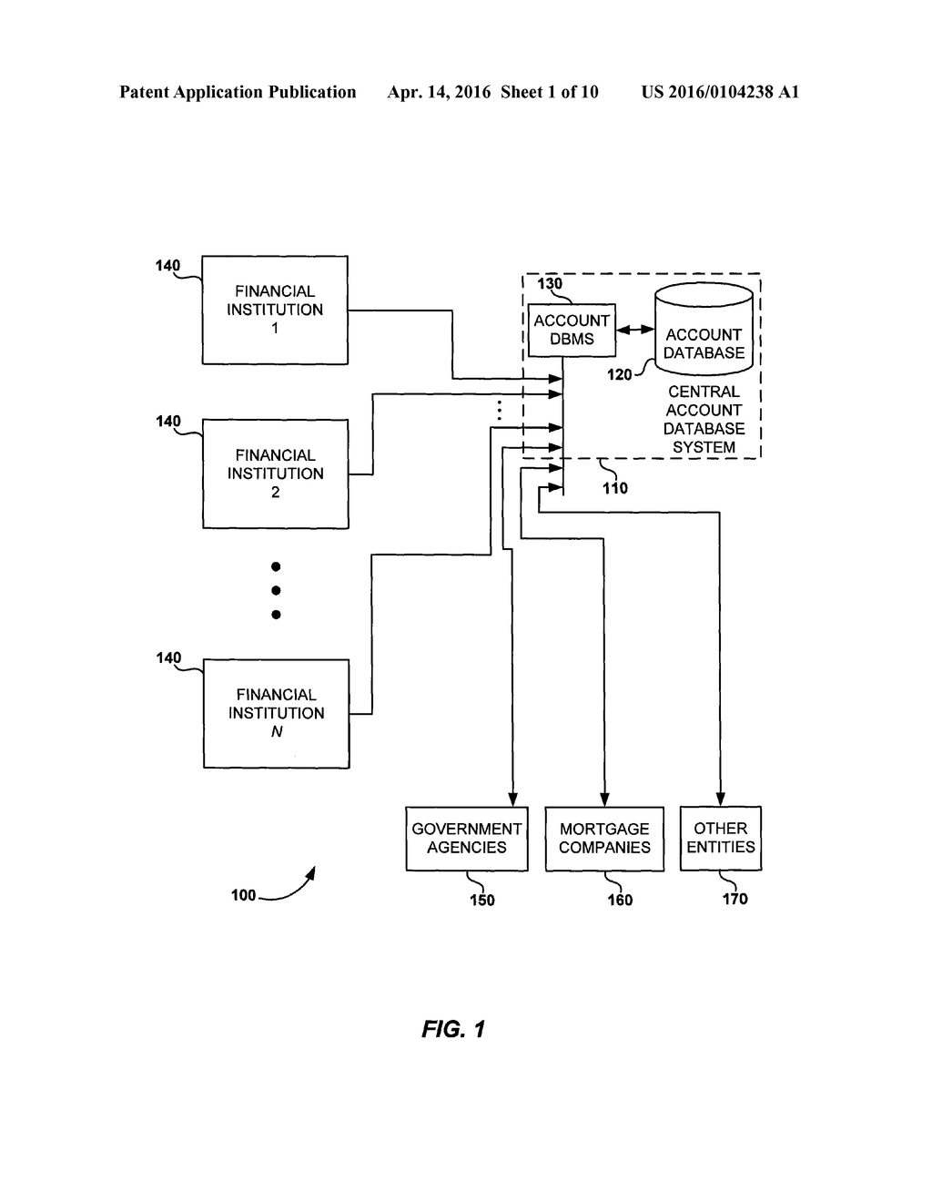 SYSTEM AND METHOD TO SEARCH AND VERIFY BORROWER INFORMATION