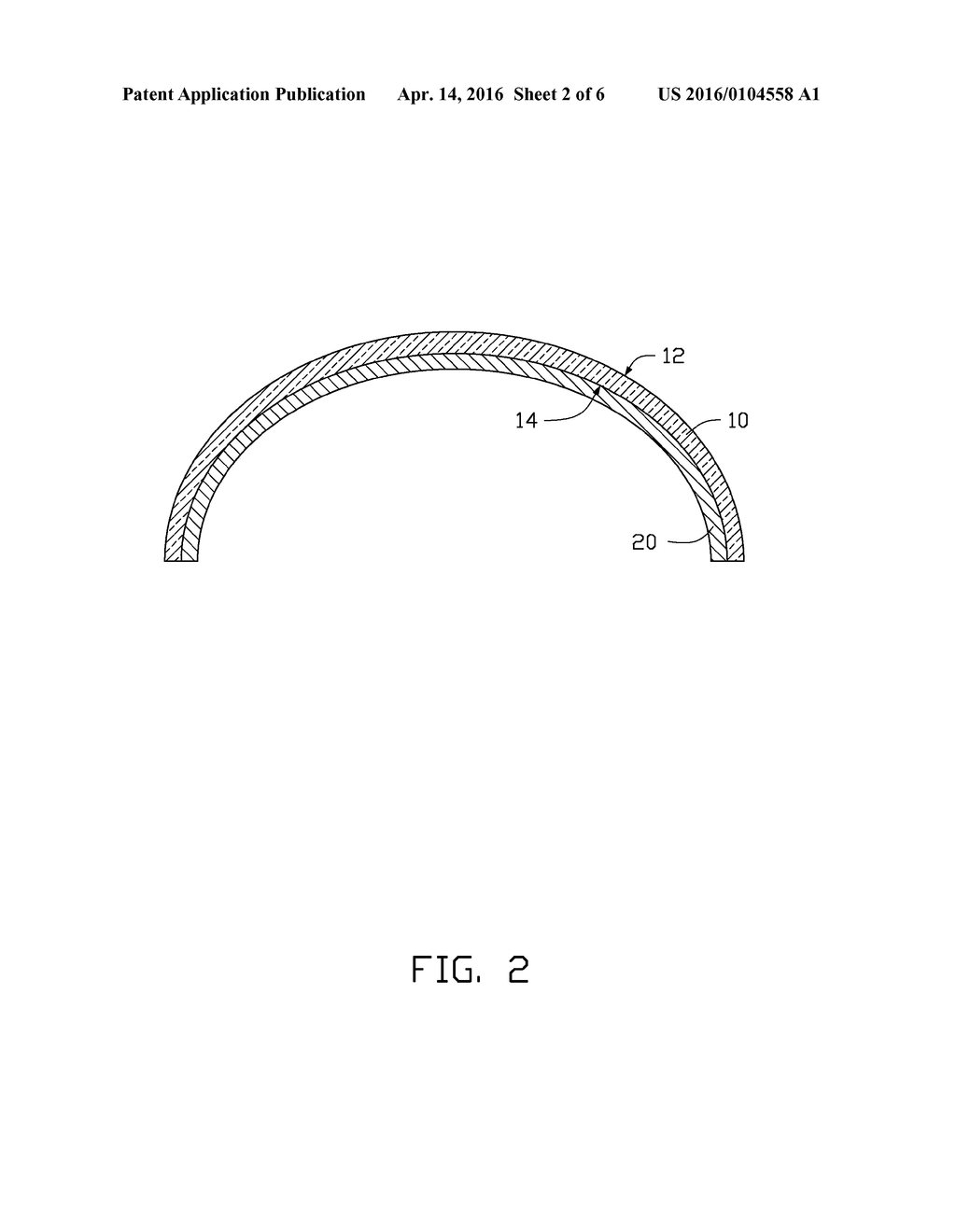 METHOD OF MANUFACTURING TOUCH DEVICE WITH CURVED TOUCH SURFACE ON     SUBSTRATE - diagram, schematic, and image 03
