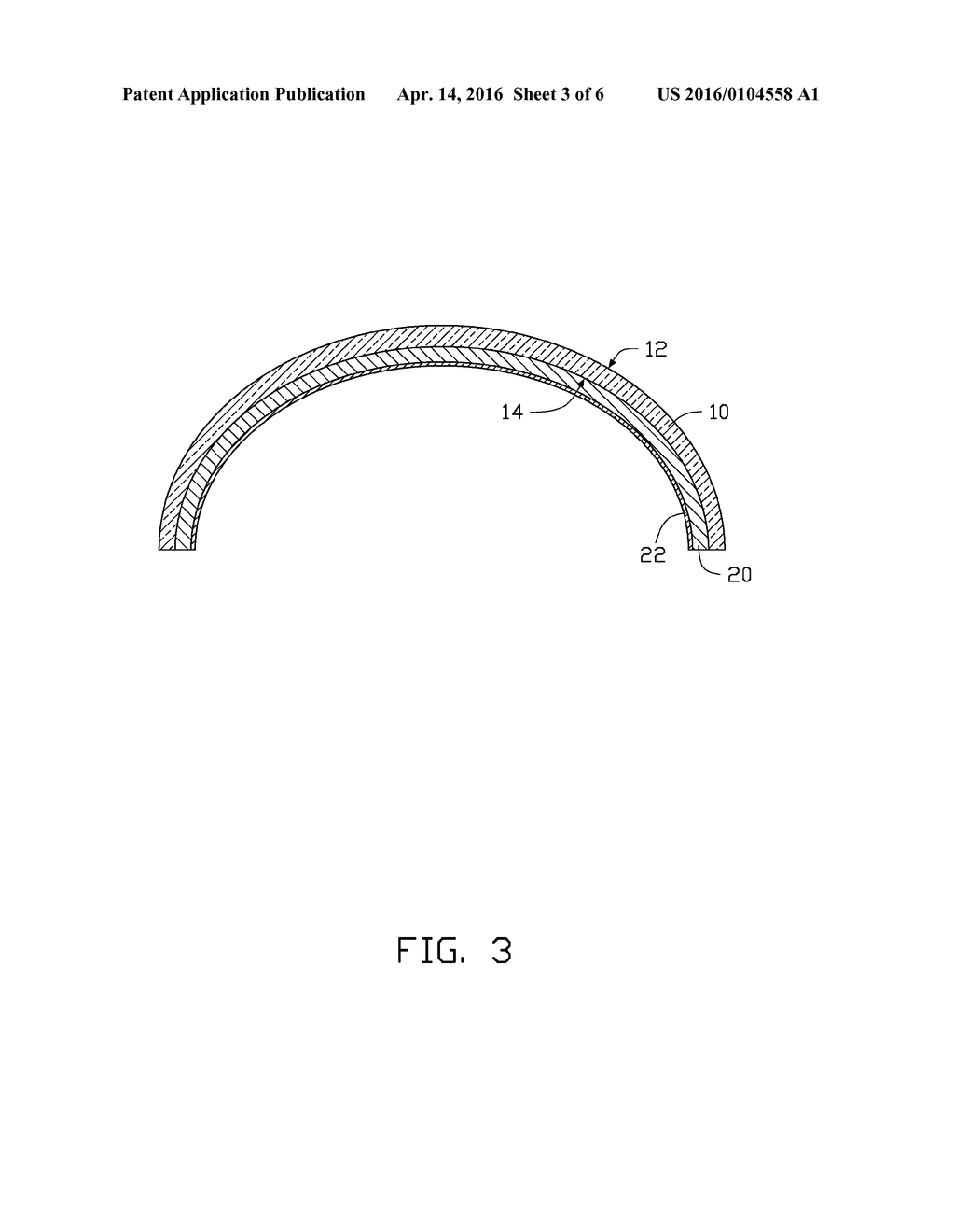 METHOD OF MANUFACTURING TOUCH DEVICE WITH CURVED TOUCH SURFACE ON     SUBSTRATE - diagram, schematic, and image 04