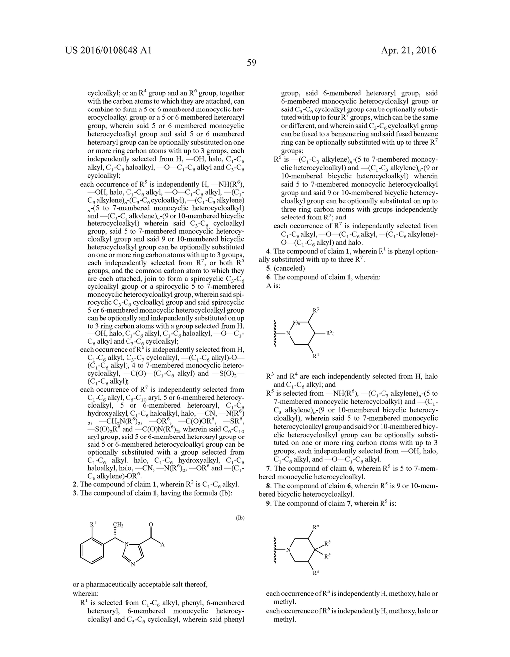 IMIDAZOLE DERIVATIVES AND METHODS OF USE THEREOF FOR IMPROVING THE     PHARMACOKINETICS OF A DRUG - diagram, schematic, and image 60