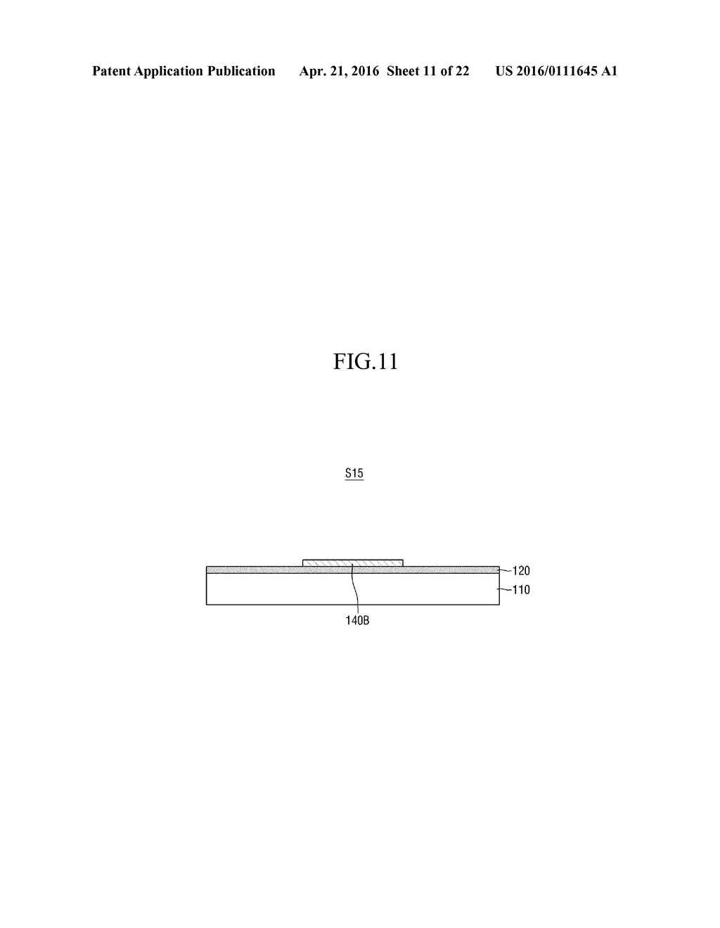 METHOD OF MANUFACTURING SUBSTRATE OF ORGANIC LIGHT-EMITTING DISPLAY DEVICE - diagram, schematic, and image 12