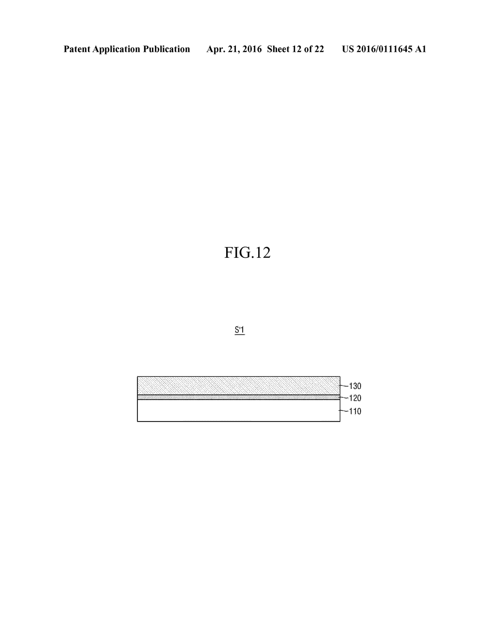 METHOD OF MANUFACTURING SUBSTRATE OF ORGANIC LIGHT-EMITTING DISPLAY DEVICE - diagram, schematic, and image 13