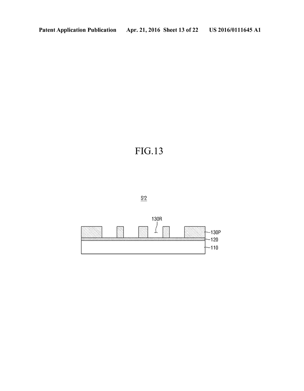 METHOD OF MANUFACTURING SUBSTRATE OF ORGANIC LIGHT-EMITTING DISPLAY DEVICE - diagram, schematic, and image 14