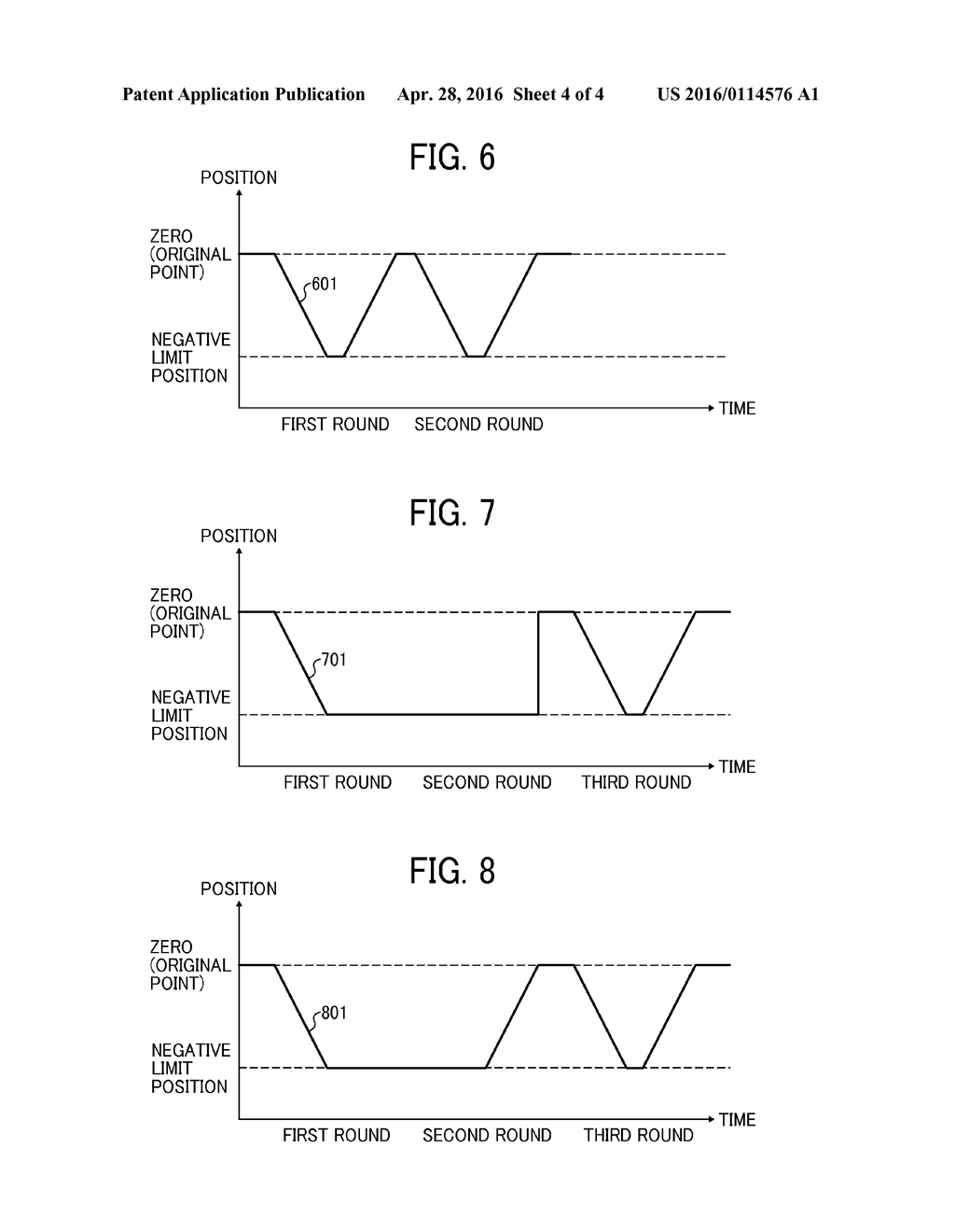 RECORDING POSITION CONTROL DEVICE AND ABNORMALITY DETECTING METHOD FOR     SAME - diagram, schematic, and image 05