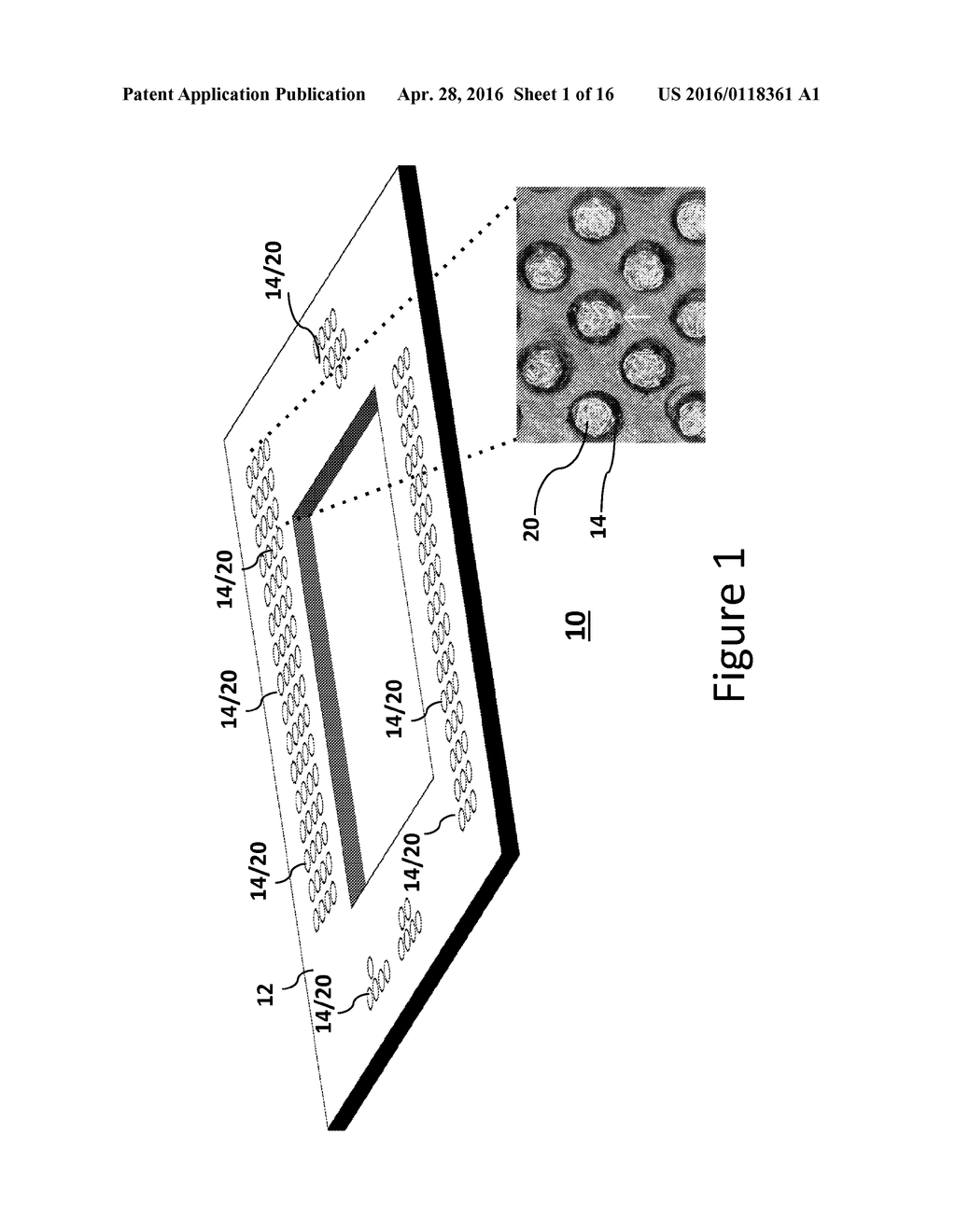 Integrated Circuit Package Structure And Interface Conductive Uses Of Connector Element For Use With Same Diagram Schematic Image 02