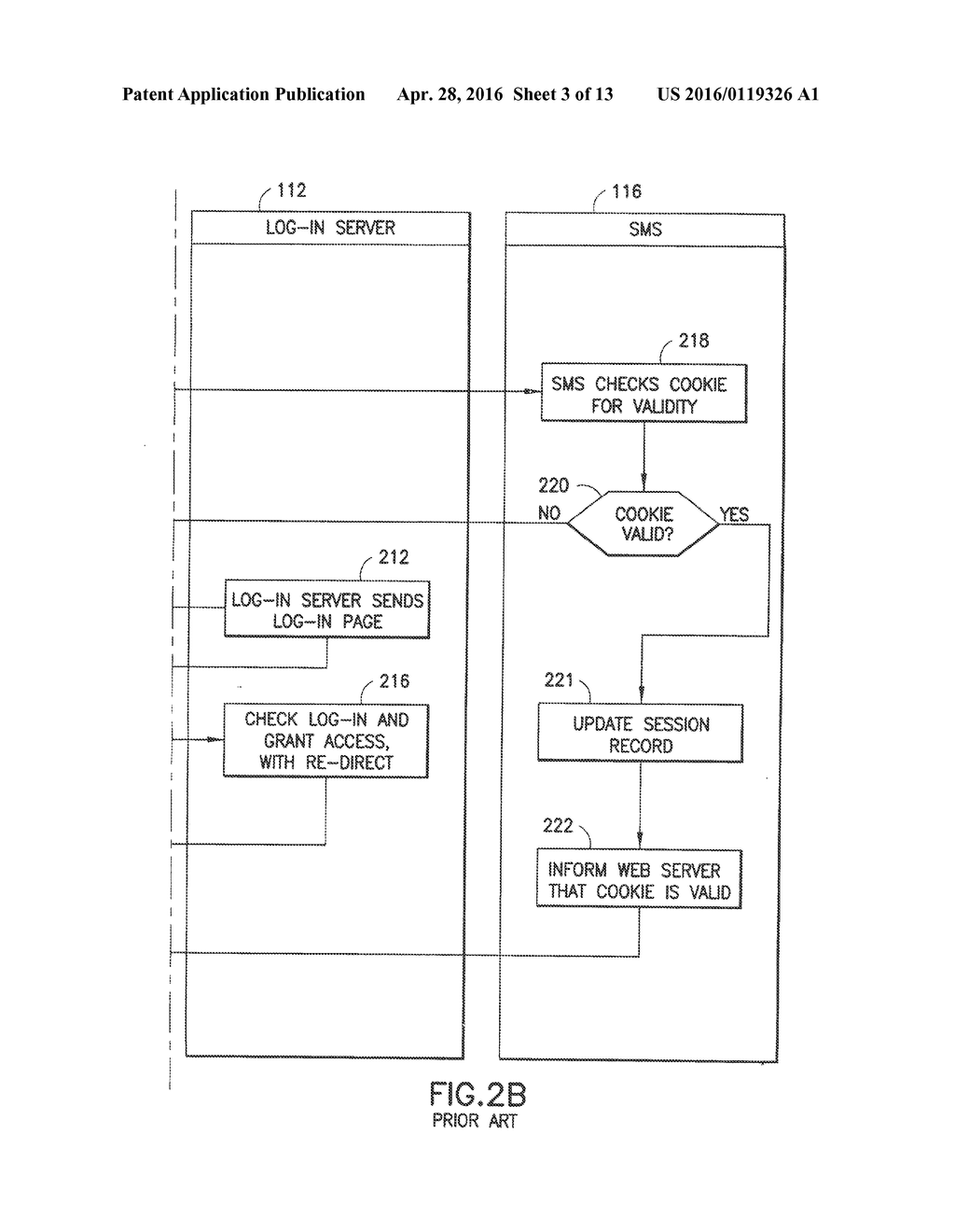 System and Method for Single Sign-On Session Management Without Central     Server - diagram, schematic, and image 04