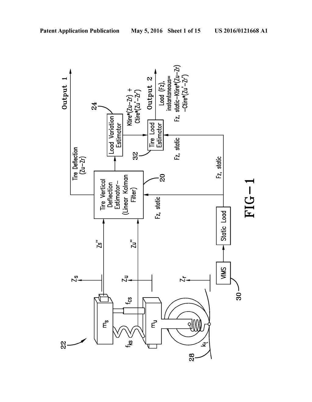 VEHICLE LOADING CONDITION DETECTION SYSTEM AND METHOD - diagram, schematic, and image 02