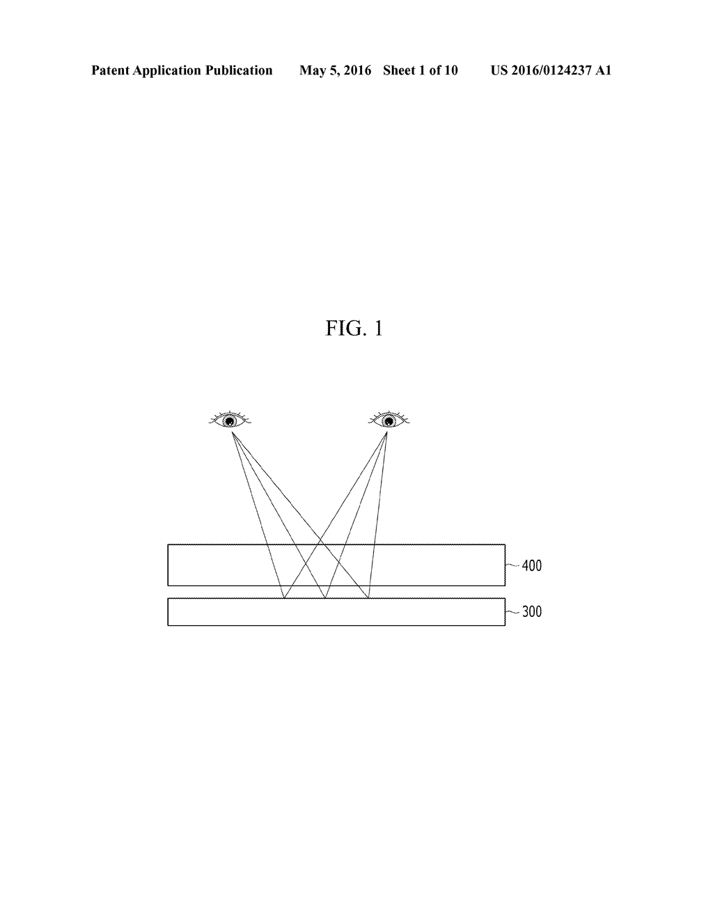 IMAGE DISPLAY DEVICE USING DIFFRACTIVE ELEMENT - diagram, schematic, and image 02