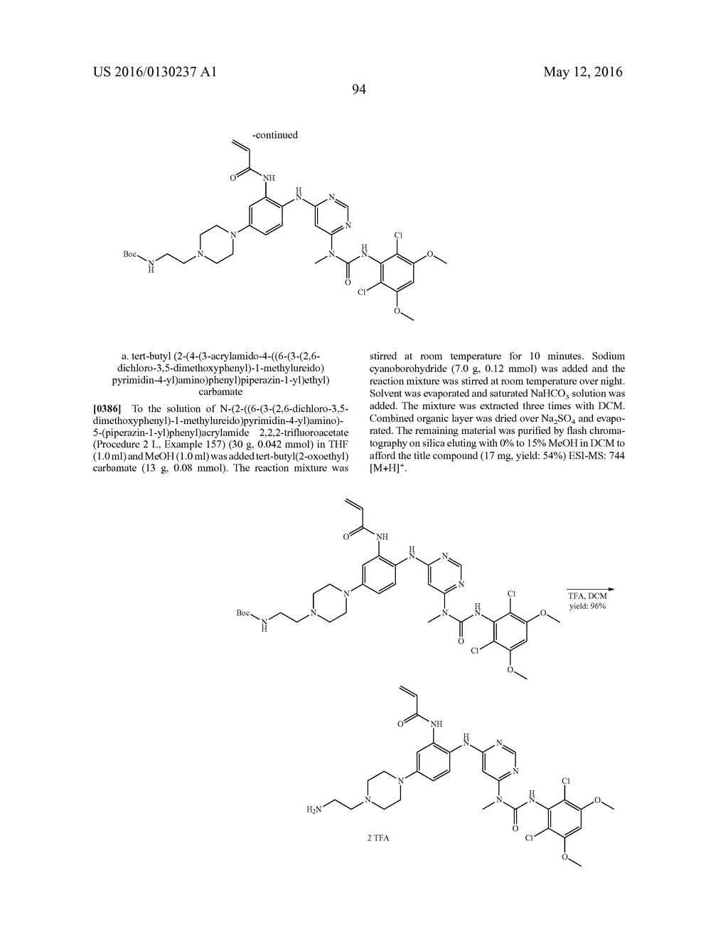 PYRIMIDINE FGFR4 INHIBITORS - diagram, schematic, and image 97