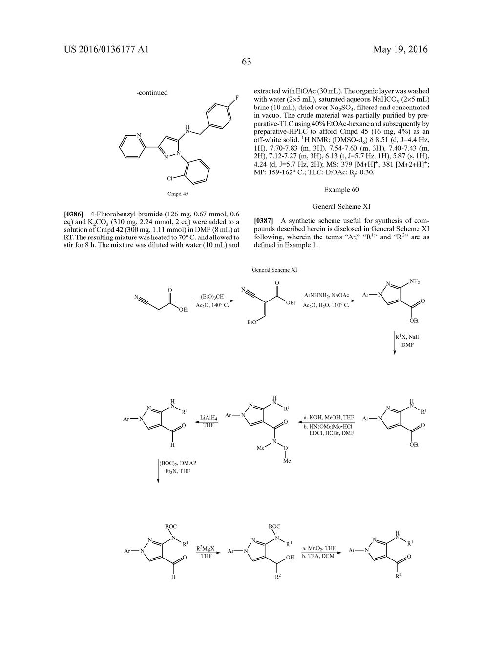 MULTISUBSTITUTED AROMATIC COMPOUNDS AS INHIBITORS OF THROMBIN - diagram, schematic, and image 64