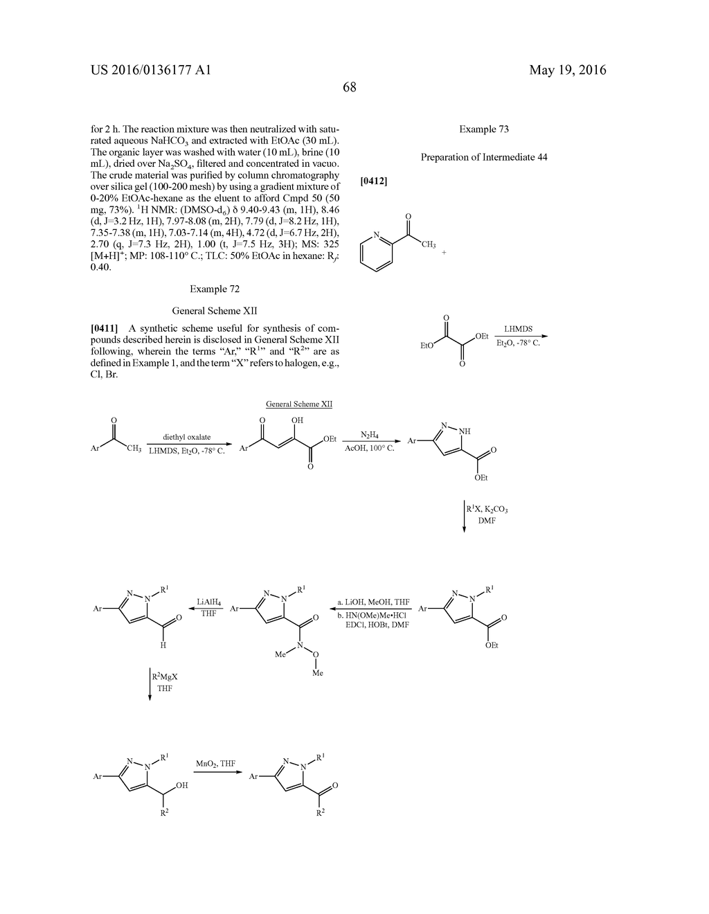 MULTISUBSTITUTED AROMATIC COMPOUNDS AS INHIBITORS OF THROMBIN - diagram, schematic, and image 69