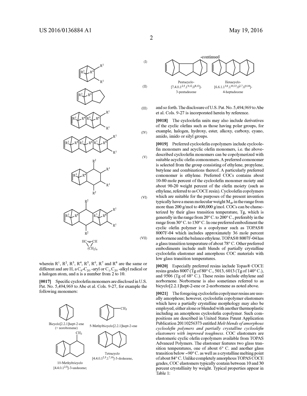 Articles Produced by Three-Dimensional Printing with Cycloolefin     Copolymers - diagram, schematic, and image 04