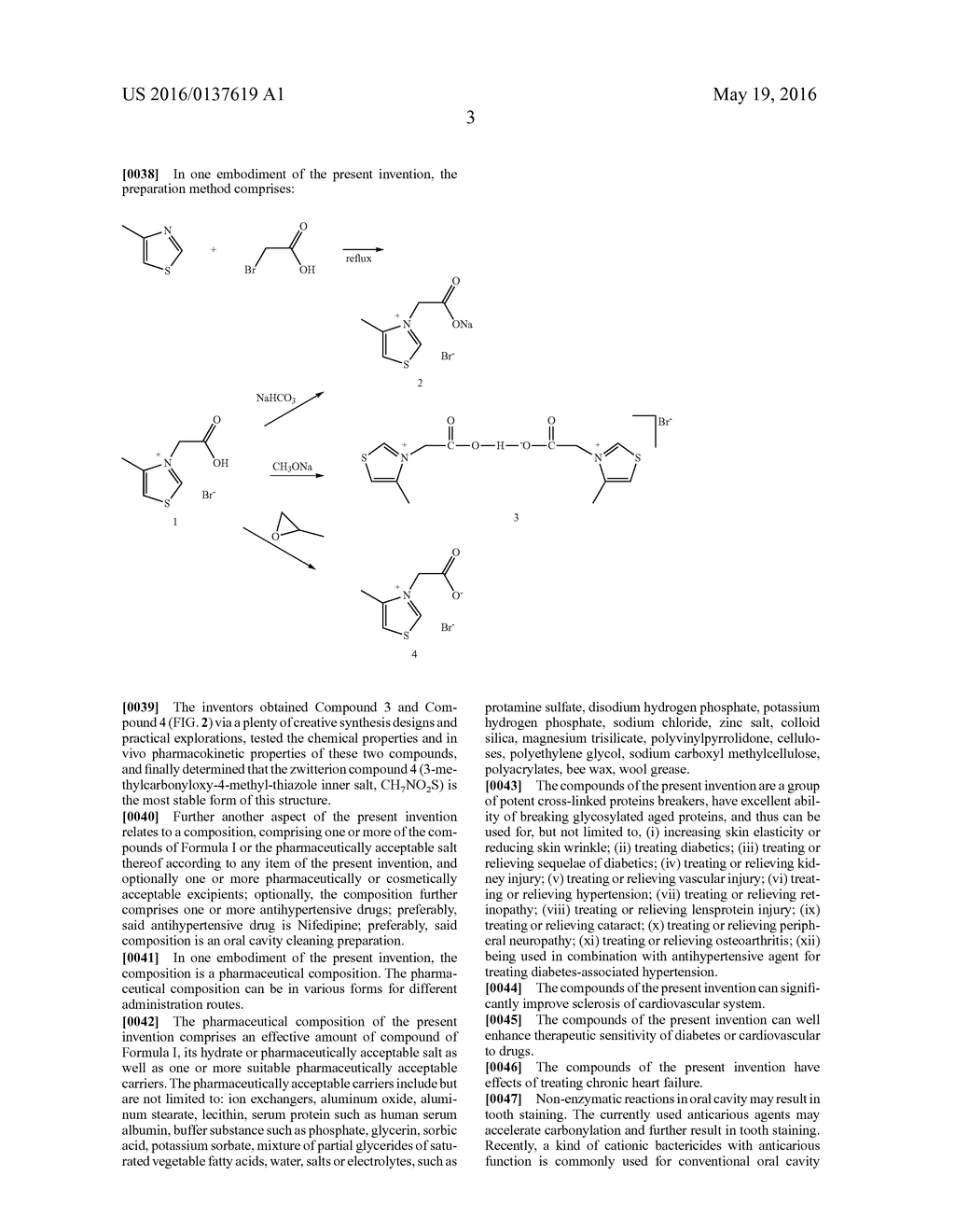 Thiazole Inner Salt Compounds, and Preparation Methods and Uses Thereof - diagram, schematic, and image 19