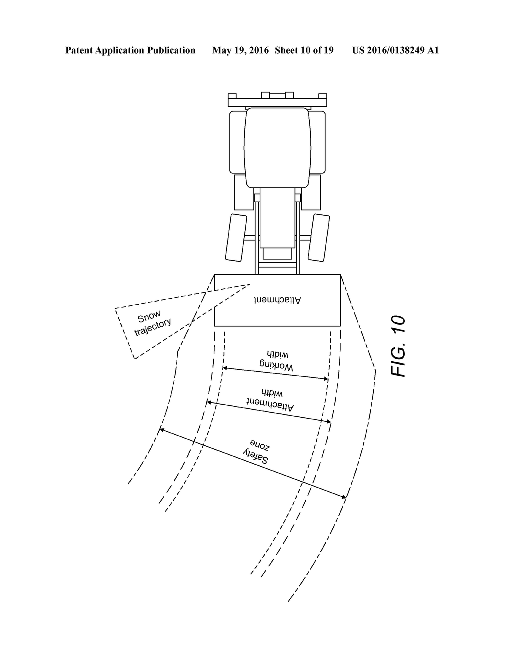 System for Improving Safety in Use of a Machine of a Kind Comprising a     Body and an Implement Movable Relative to the Body - diagram, schematic, and image 11
