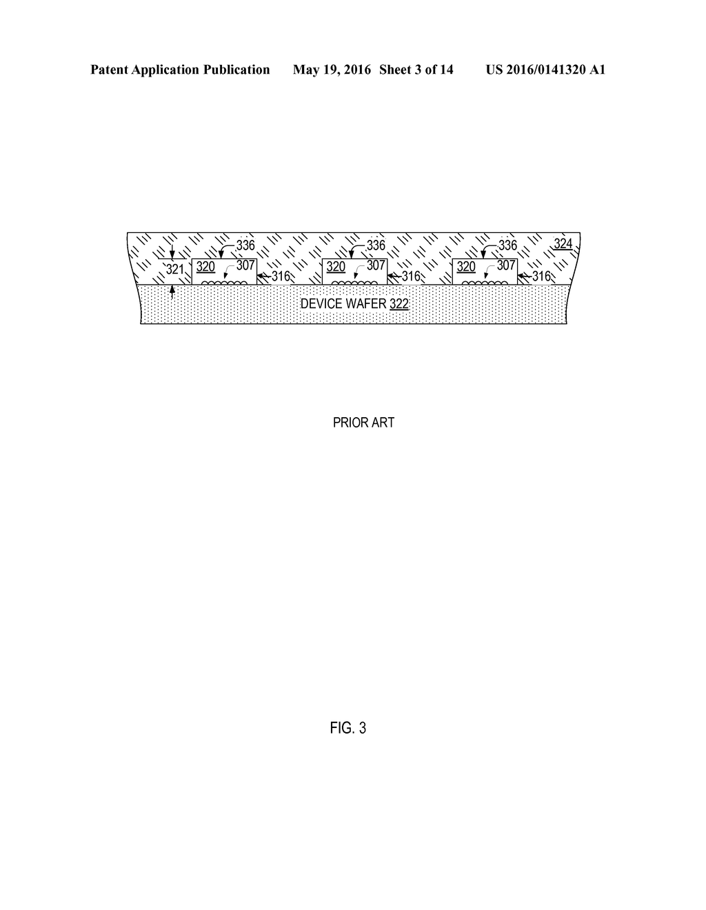 Wafer-Level Encapsulated Semiconductor Device, And Method For Fabricating     Same - diagram, schematic, and image 04