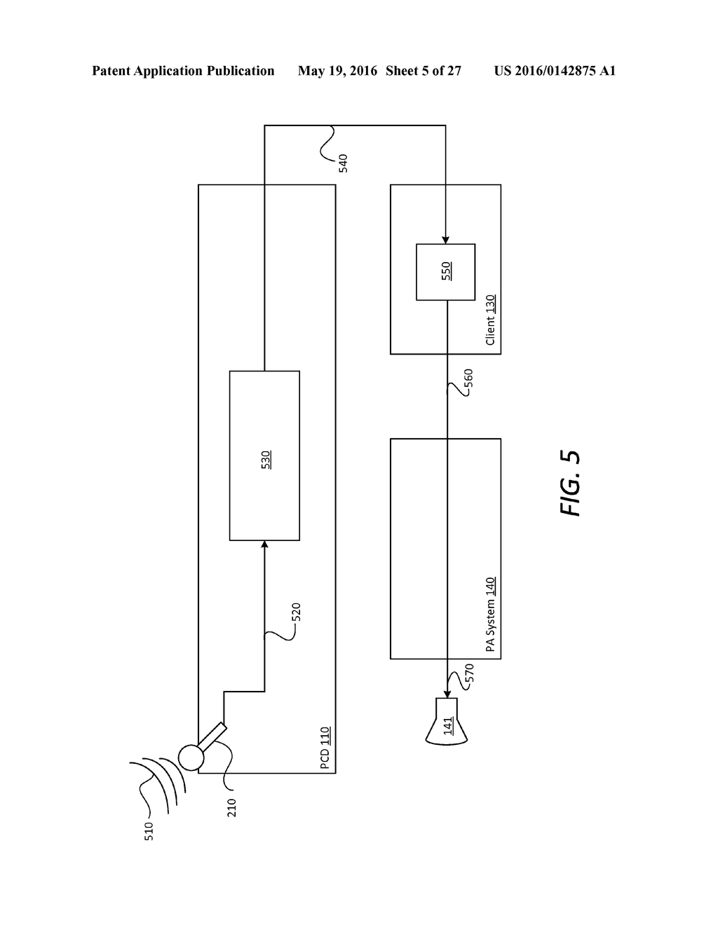 location aware personal communication device enabled public addressing (pa)  system - diagram, schematic, and image 06