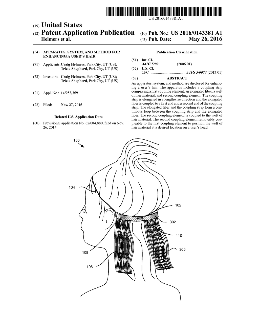 Apparatus, System, and Method for Enhancing a User's Hair - diagram, schematic, and image 01