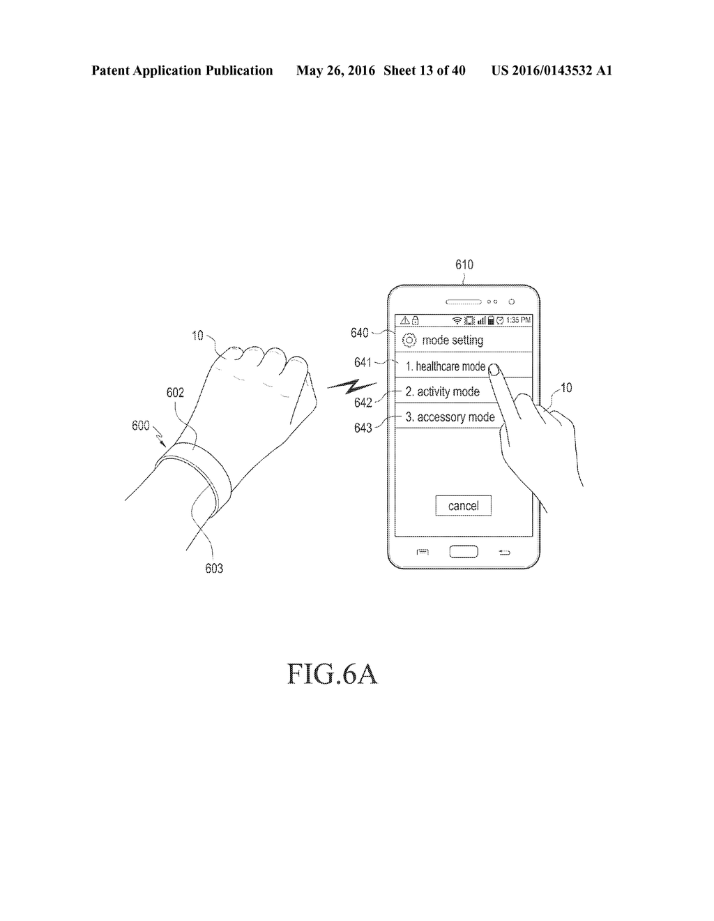 WEARABLE DEVICE AND METHOD OF CONTROLLING THE SAME - diagram, schematic, and image 14