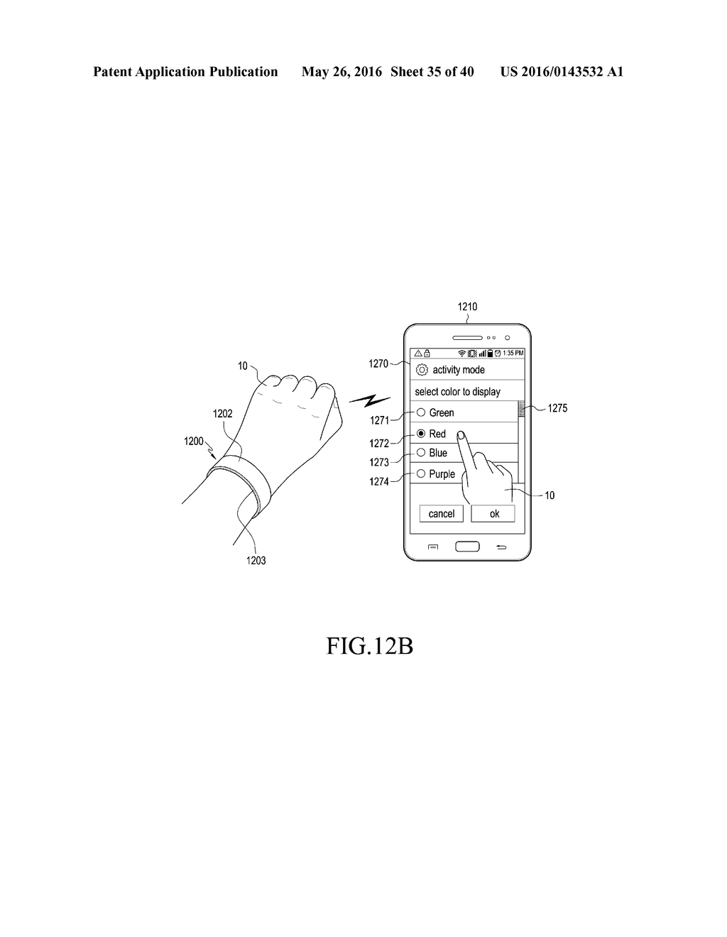 WEARABLE DEVICE AND METHOD OF CONTROLLING THE SAME - diagram, schematic, and image 36