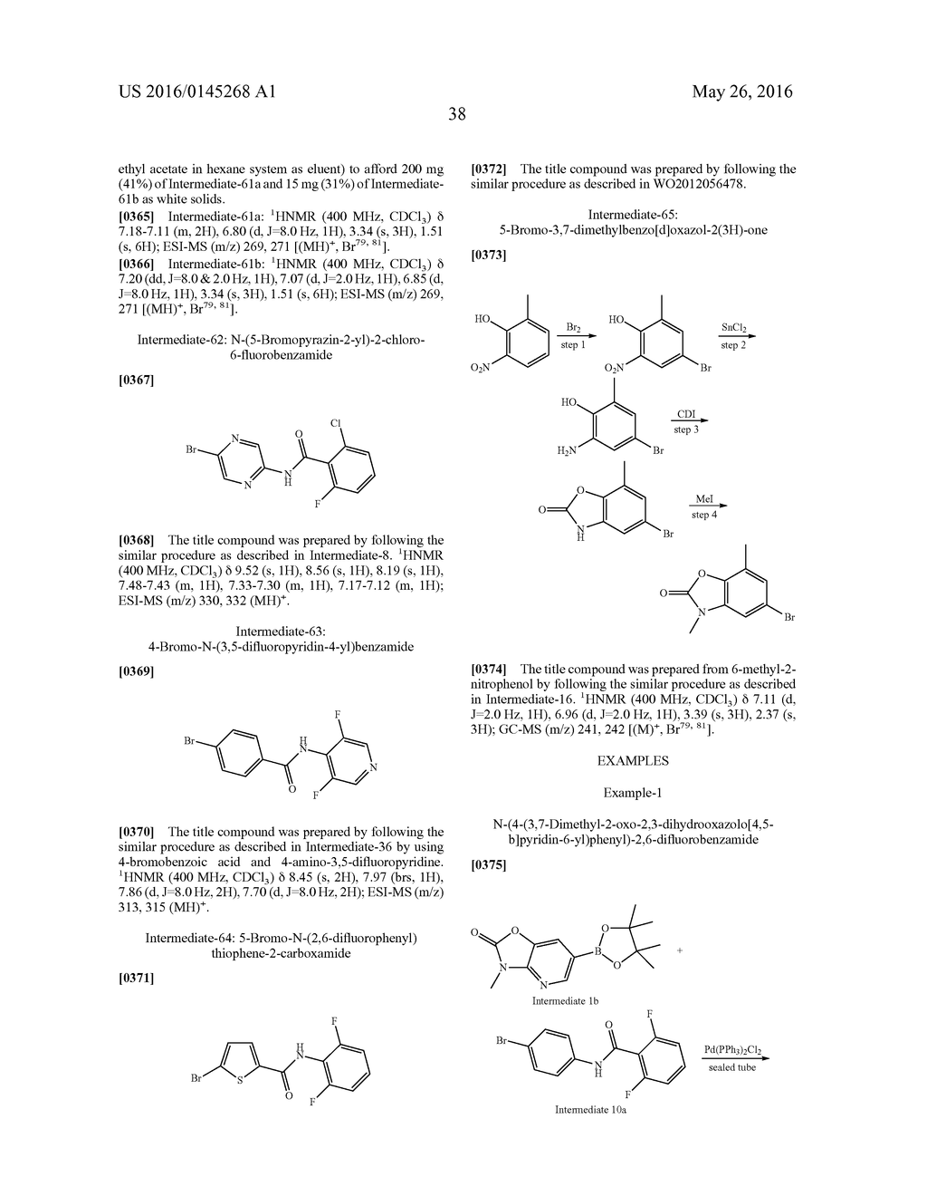 SUBSTITUTED HETEROCYCLIC COMPOUNDS AS CRAC MODULATORS - diagram, schematic, and image 39