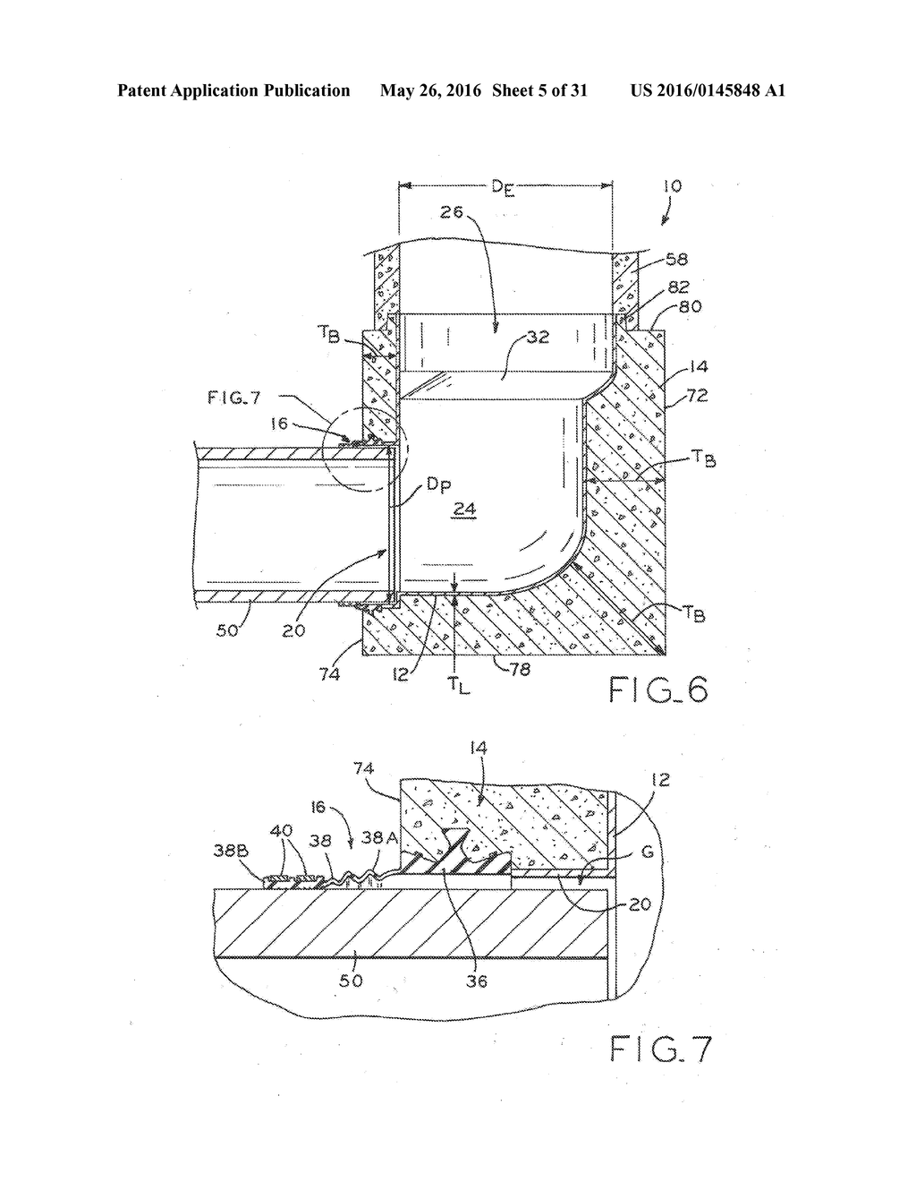 MANHOLE BASE ASSEMBLY WITH INTERNAL LINER AND METHOD OF MANUFACTURING SAME - diagram, schematic, and image 06