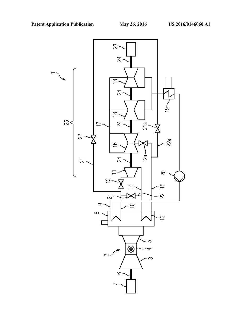 Method For Operating A Combined Cycle Power Plant Diagram Schematic And Image 02