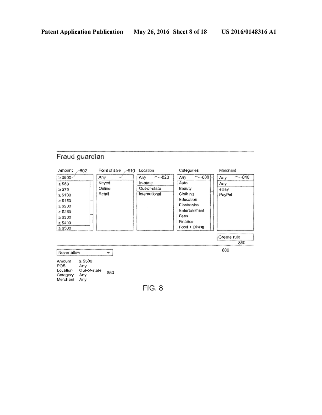 Adaptive and Customizable Account Interface System and Method - diagram, schematic, and image 09