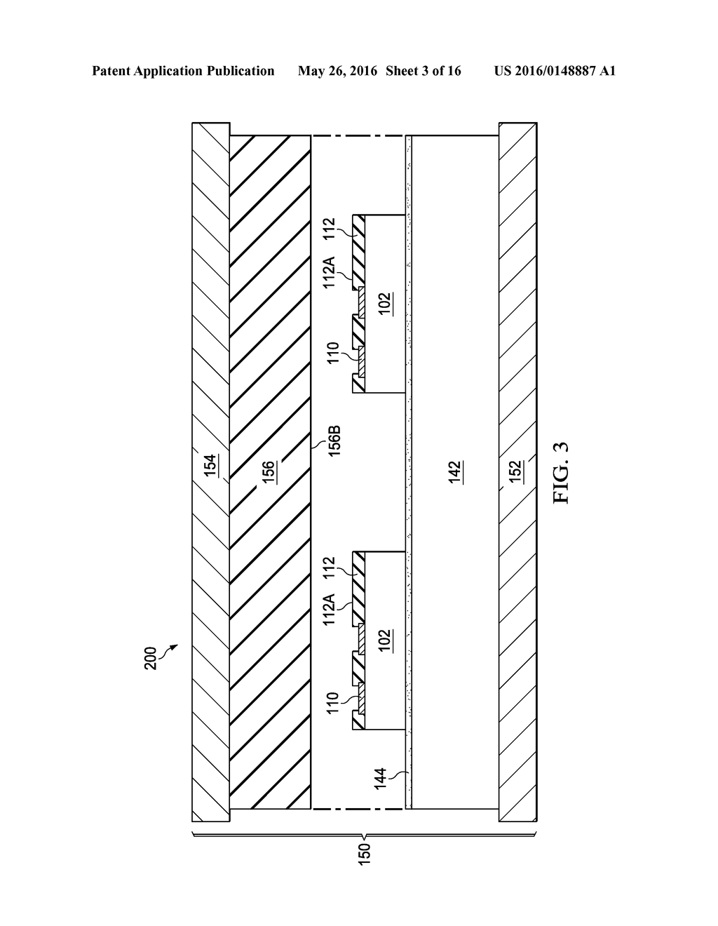 Device Package with Reduced Thickness and Method for Forming Same - diagram, schematic, and image 04