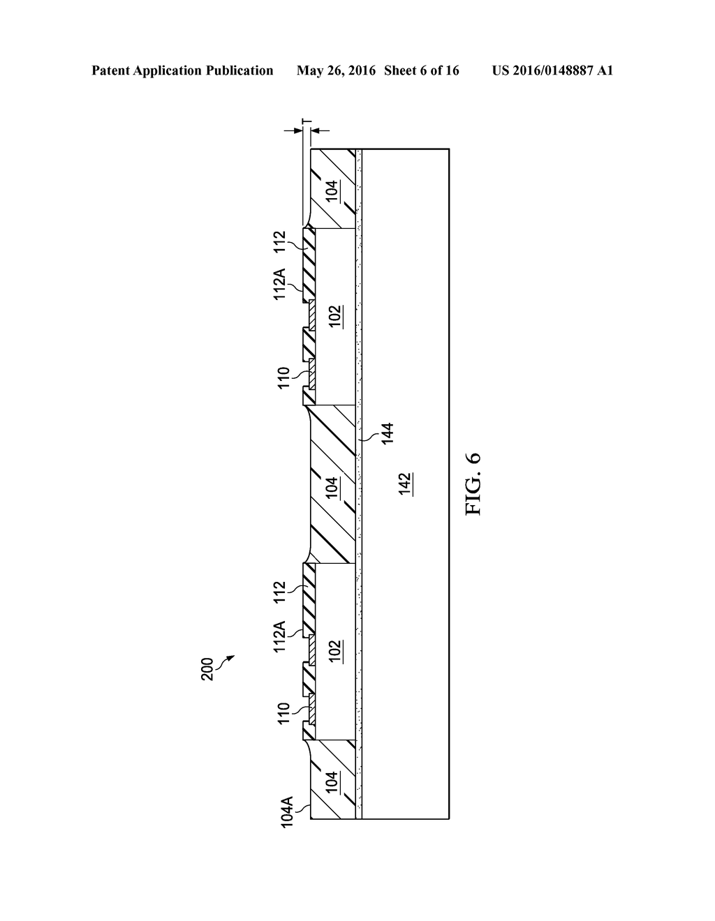 Device Package with Reduced Thickness and Method for Forming Same - diagram, schematic, and image 07