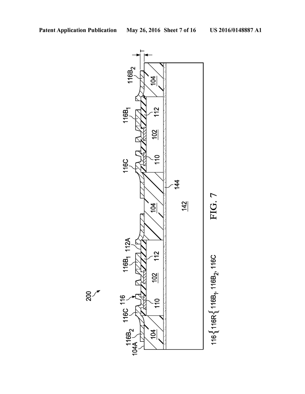 Device Package with Reduced Thickness and Method for Forming Same - diagram, schematic, and image 08