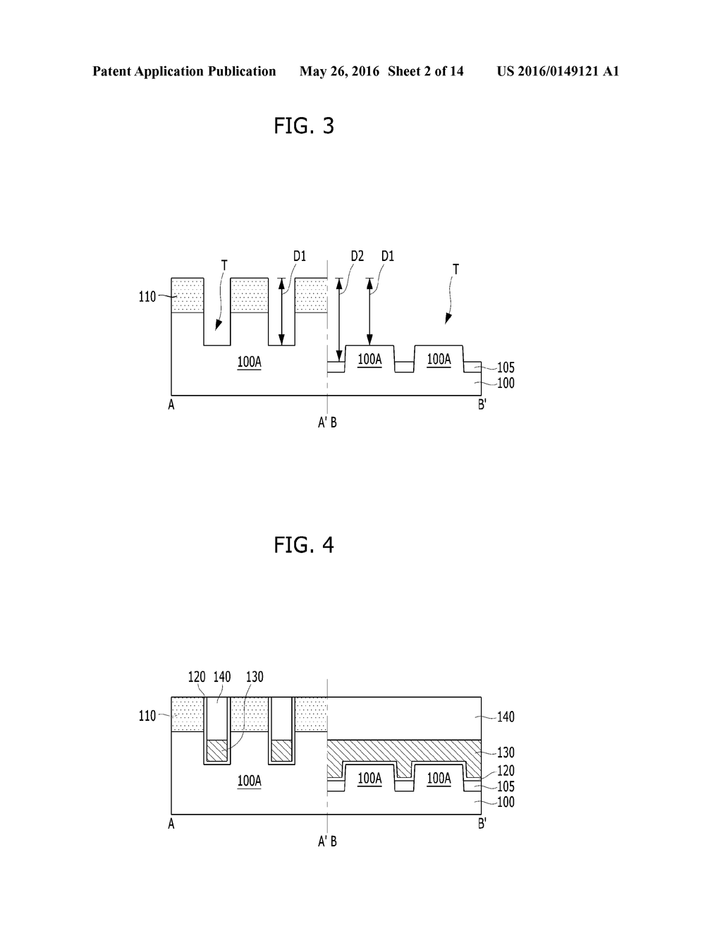 ELECTRONIC DEVICE AND METHOD FOR FABRICATING THE SAME - diagram, schematic, and image 03
