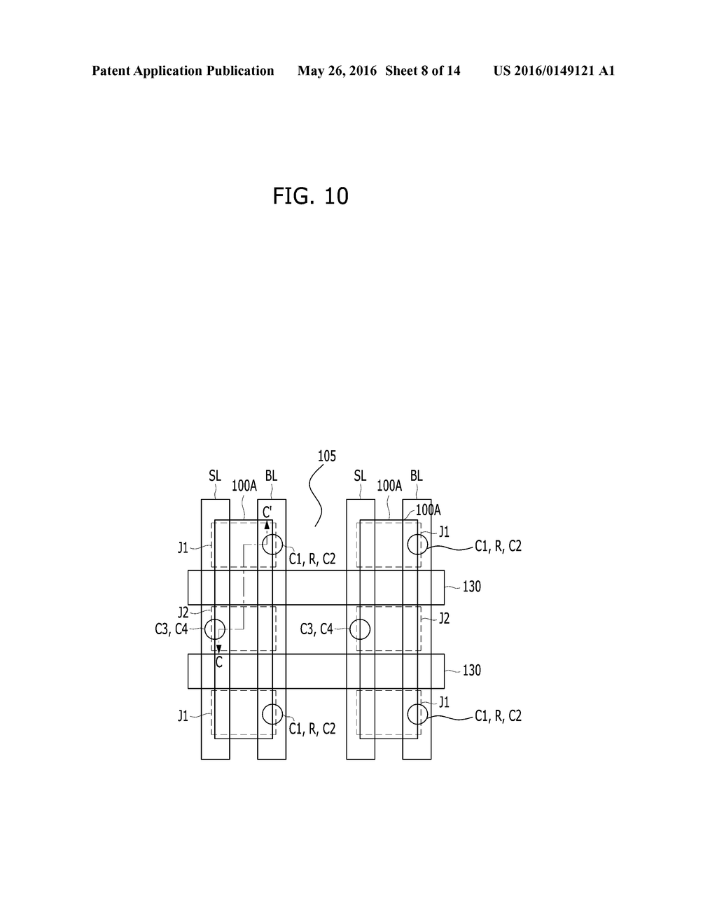 ELECTRONIC DEVICE AND METHOD FOR FABRICATING THE SAME - diagram, schematic, and image 09